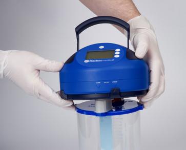 Rocket® PSU™ fitting to a Rocket® Blue Bottle